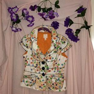 Elevenses Floral Blazer Size 6 !